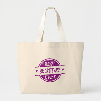 Best Secretary Ever Purple. Tote Bag