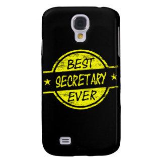 Best Secretary Ever Yellow Samsung Galaxy S4 Cover