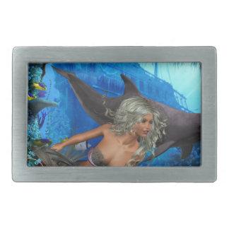 Best Seller Merrow Mermaid Belt Buckle