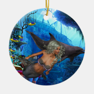 Best Seller Merrow Mermaid Ceramic Ornament