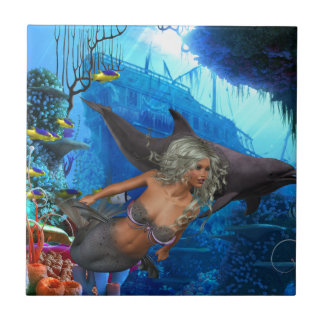 Best Seller Merrow Mermaid Tile