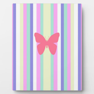 BEST-SELLING AMAZINF BUTTERFLY WITH STRIPES DISPLAY PLAQUE