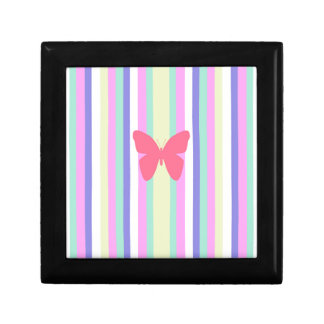 BEST-SELLING AMAZINF BUTTERFLY WITH STRIPES JEWELRY BOX