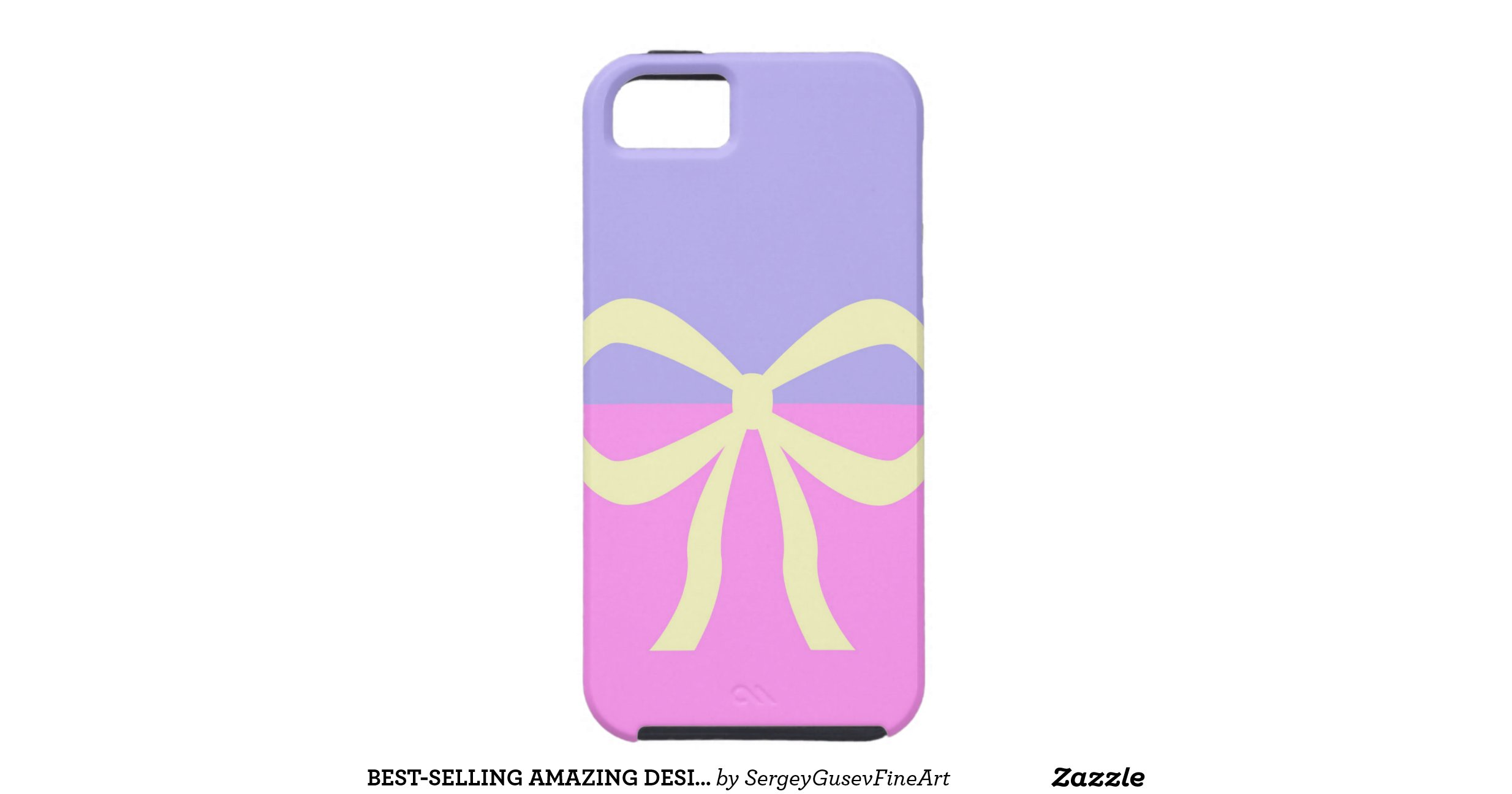 Best Selling Amazing Design Pink Blue Bow Iphone 5 Case: 4 selling design