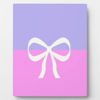 BEST-SELLING AMAZING DESIGN PINK BLUE BOW PLAQUE