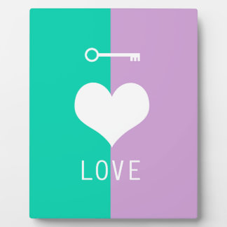 BEST-SELLING AMAZING ORIGINAL HEART LOVE & KEY PHOTO PLAQUES