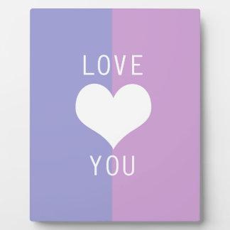 BEST-SELLING AMAZING ROMANTIC LOVE DESIGN DISPLAY PLAQUES