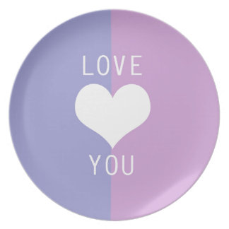 BEST-SELLING AMAZING ROMANTIC LOVE DESIGN MELAMINE PLATE