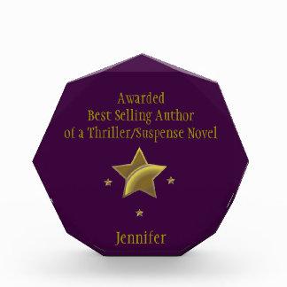 """""""Best Selling Author"""" Award: Jennifer Award"""