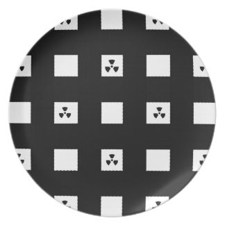 BEST-SELLING AWESOME BLACK&WHITE DESIGN DINNER PLATE