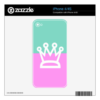 BEST-SELLING AWESOME KING CROWN DESIGN SKINS FOR iPhone 4