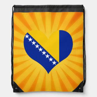 Best Selling Cute Bosnia Herzegovina Drawstring Bag
