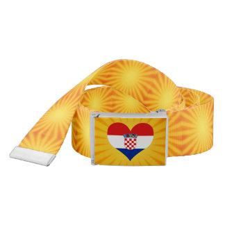 Best Selling Cute Croatia Belt