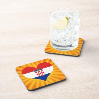 Best Selling Cute Croatia Beverage Coaster