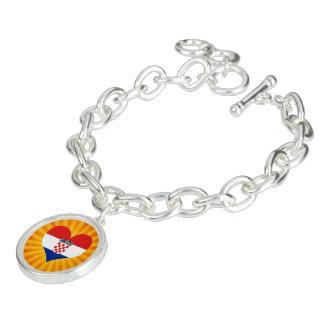 Best Selling Cute Croatia Charm Bracelet