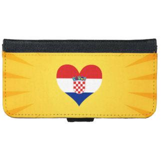 Best Selling Cute Croatia iPhone 6 Wallet Case