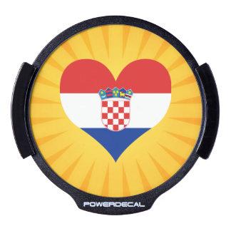 Best Selling Cute Croatia LED Window Decal
