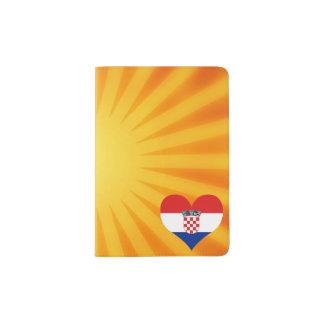 Best Selling Cute Croatia Passport Holder