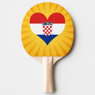 Best Selling Cute Croatia Ping Pong Paddle