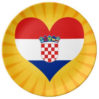 Best Selling Cute Croatia Porcelain Plates