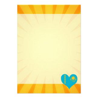 """Best Selling Cute Kazakhstan 5"""" X 7"""" Invitation Card"""
