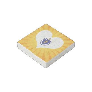 Best Selling Cute Massachusetts Stone Magnet