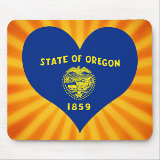 Best Selling Cute Oregon Mouse Pad