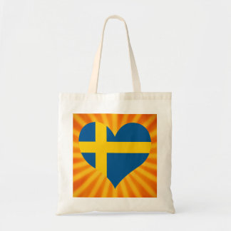 Best Selling Cute Sweden Budget Tote Bag