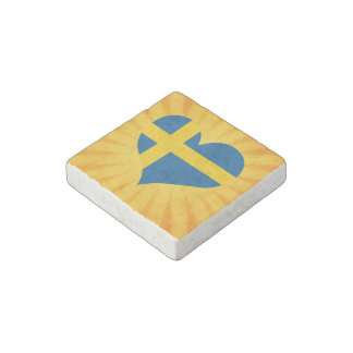 Best Selling Cute Sweden Stone Magnet