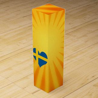 Best Selling Cute Sweden Wine Bottle Boxes