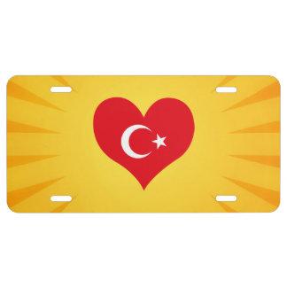 Best Selling Cute Turkey License Plate