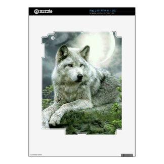 Best Selling Imaginative Wolf Art Illustration Pai iPad 2 Skins
