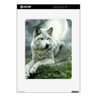 Best Selling Imaginative Wolf Art Illustration Pai iPad Skins