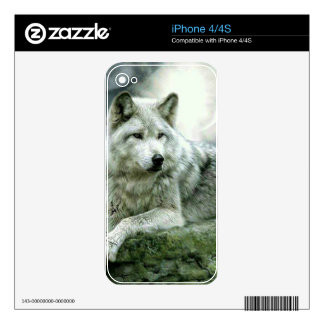 Best Selling Imaginative Wolf Art Illustration Pai Skin For The iPhone 4S