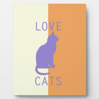 BEST-SELLING LOVE CATS ORIGINAL DESIGN PHOTO PLAQUE