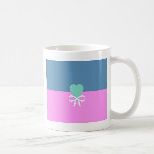 BEST-SELLING ORIGINAL DESIGN LOVE GREEN HEART CLASSIC WHITE COFFEE MUG