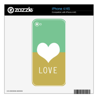 BEST-SELLING ORIGINAL ROMANTIC LOVE DESIGN SKIN FOR THE iPhone 4
