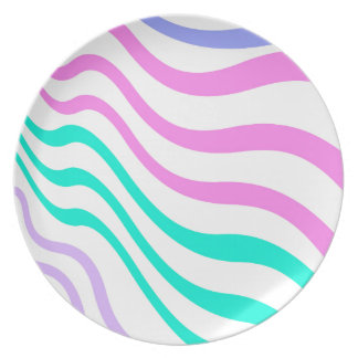 BEST SELLING STRIPES COLORS AMAZING DESIGN DINNER PLATE