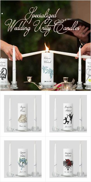 Best Selling Unique Theme Unity Candles