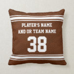 Best Senior Night Football Gifts PERSONALIZED Throw Pillow