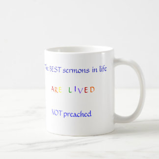 Best Sermon Coffee Mug