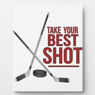 Best Shot Plaque
