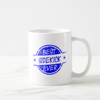 Best Sidekick Ever Blue Coffee Mug