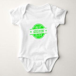 Best Sidekick Ever Green Baby Bodysuit