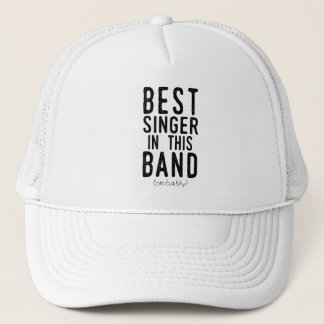 Best Singer (probably) (blk) Trucker Hat