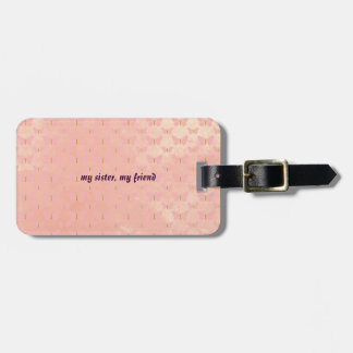 Best Sister Ever Luggage Tag
