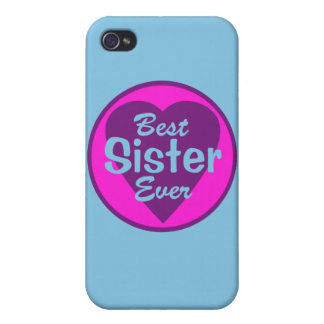 Best Sister Ever Personalized iPhone 4 Covers