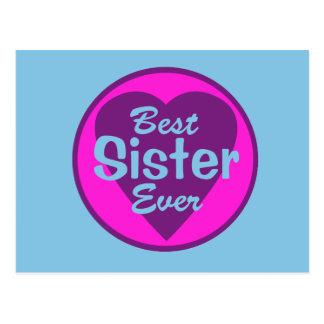 Best Sister Ever Postcard