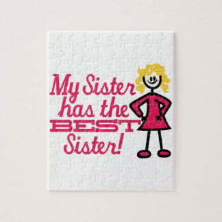 Best Sister Jigsaw Puzzle