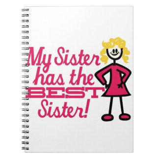 Best Sister Notebook